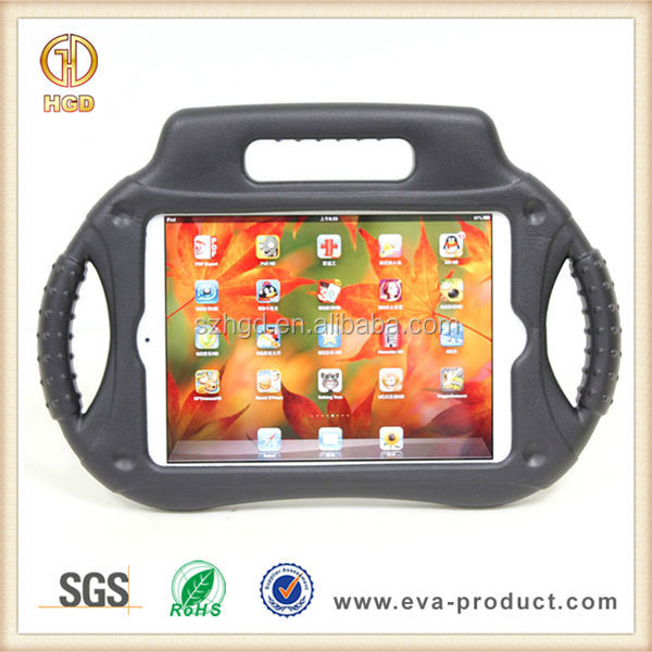 Radio design Stand EVA shockproof hard plastic case for ipad mini