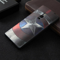 New For One Plus 2 Case Cover 3D Stereo Relief Painting Back Cover Case Mobile Phone Slim Silicon Protector Funda Capa