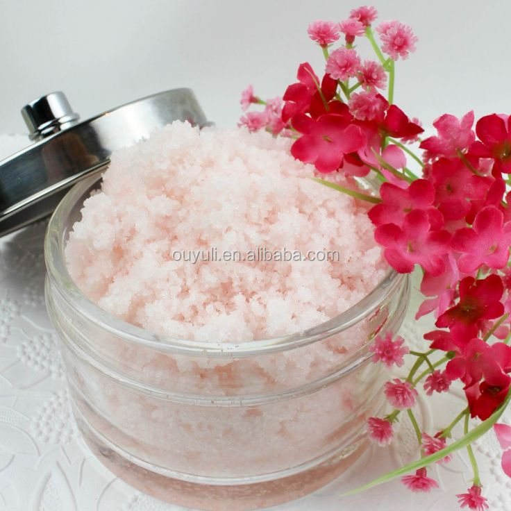 Body Whitening Relaxing Himalayan Salt Body Scrub Free Sample