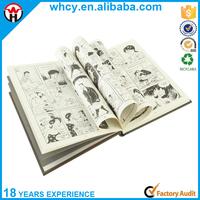 China Manufacturer Custom Cheap High Quality Hardcover Comic Book/ Comic Hardcover Book Printing