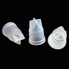 custom made LSR injection molding Plastic bottle cap liquid silicone valve