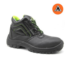 jungle embossed leather ankle protective safety shoes item#JZY1901S1