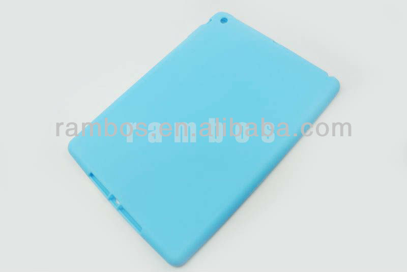 Tablet PC Soft Silicon Skin Case Cover for ipad 5