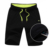Plain mens sports basketball short jogger pants