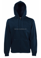 Wholesale-plain-hoodies polar fleece cotton polyester hoodie