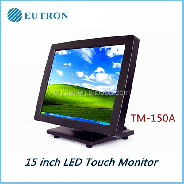 POS 15 inch all in one LED Touchscreen Monitor