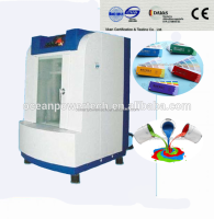 Reciprocating elliptical motion&durable paint shaker/ color mixing machine with two shaft rotation for all liquids with LCD disp