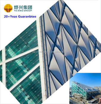 ETFE membrane structure building roof with design and constuct