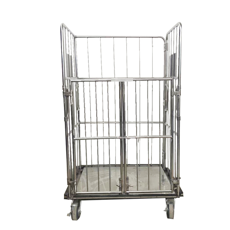 Storage more effective logistics zinc titanium roll cage