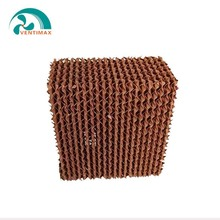 Honeycomb evaporative cooling pad for poultry house