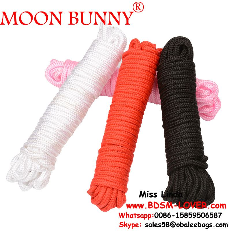 4 Colors Couples Moonight 10 meter Long Cotton SM Bondage Rope Role Play Kit Supplies