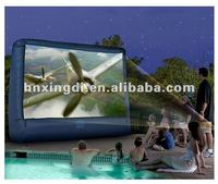 hot-selling oxford cloth advertising inflatable tv screen inflatable screen