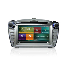 2 Din Car Audio Video Entertainment Navigation System for HYUNDAI IX35/ TUCSON 2009- 2013