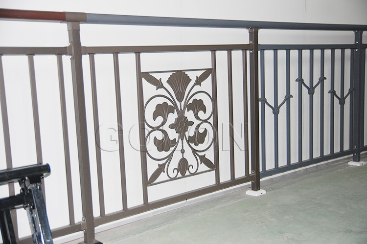 Modern Simple Beautiful Decorative Wrought Iron Balusters