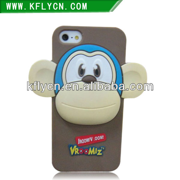 Home and Gift Items likable Monkey Shaped Silicone Phone case