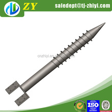 Professional manufacture hollow round screw anchor stake