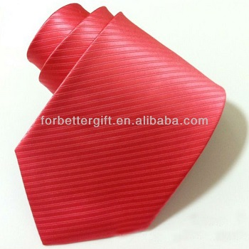 Polyester ties for men