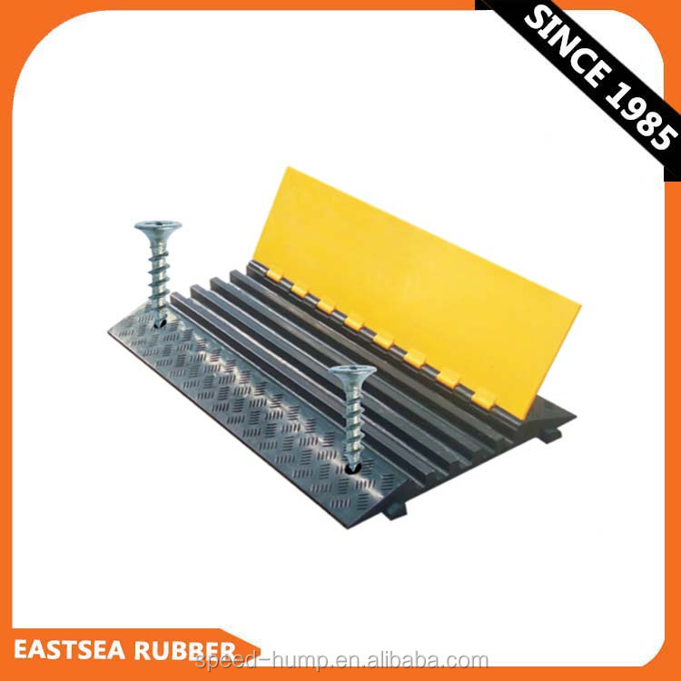 Manufacture China Rubber Dual Rubber Cable Protector Hump Ramp