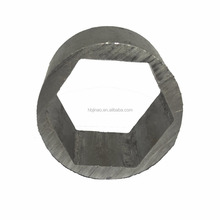 High Quality carbon steel cold drawn Inner Hexagonal Outer Round Seamless Steel Hexagonal pipe