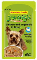 Jerhigh Premium Dog Food Chicken & Vegetable in Gravy