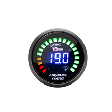 DRAGON GAUGE Car Motor Auto 2&quot; 52mm Digital 20 LED Air Fuel Ratio Gauge car <strong>meter</strong>