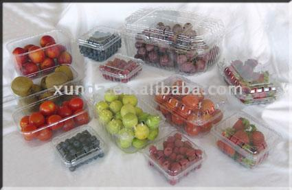 Plastic clamshells/ Clear Plastic containers