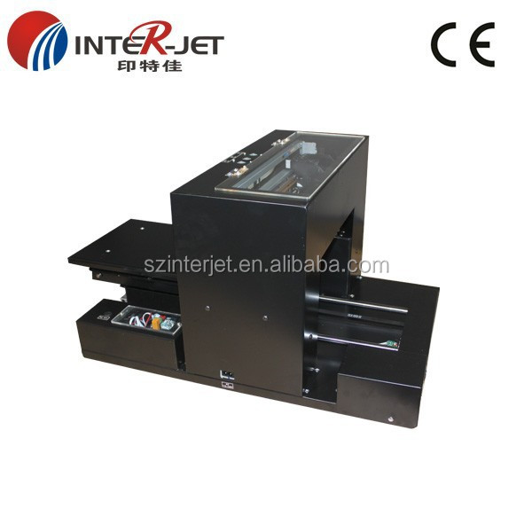 Update A4 size Eco solvent Flatbed Printer