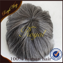 Best Seller Fine mono Peruvian human real hair Men artificial hair Toupee on sale