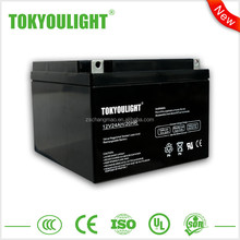 New Arrival 12v ups rechargeable battery / 24ah 50ah Sealed Lead Acid battery