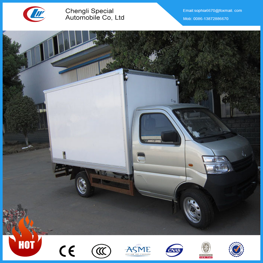 Changan 4X2 light commercial truck and vans 3ton cargo truck for sale