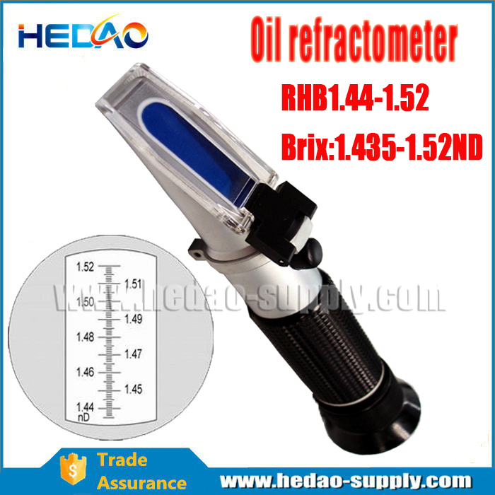 Professional Industrial Oil 1.435-1.520ND hand Refractometer