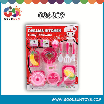 High quality plastic mini toy kitchen set /funny kitchen toys set/mother garden kitchen toy set