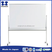 Factory supply mobile stand enamel surface office magnetic sliding white board