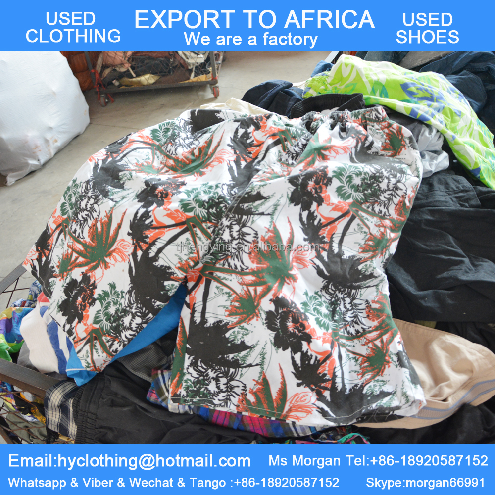 bulk used clothing and shoes for africa