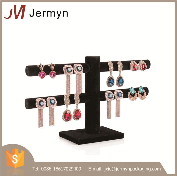 Customized jewelry hanging display new earring display holder