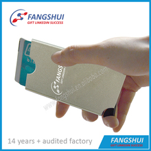 Automatic pop up card holder, aluminum credit card holder rfid blocking card holder