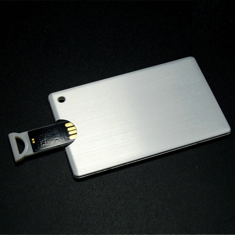 Free Sample/logo , low price 2gb business card usb wholesale price credit card usb for you