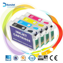 Refillable ink cartridge for epson t10/ t11/ t13 with chip new hot product for 2015