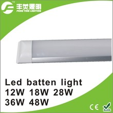 LED batten light 90cm 28w surface integrated led tube linear light