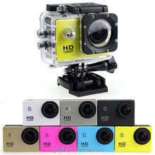 Factory supply 2.0' LTPS LCD 30M waterproof HD 1080P SJ4000 Go Pro sports DV helmet action camera