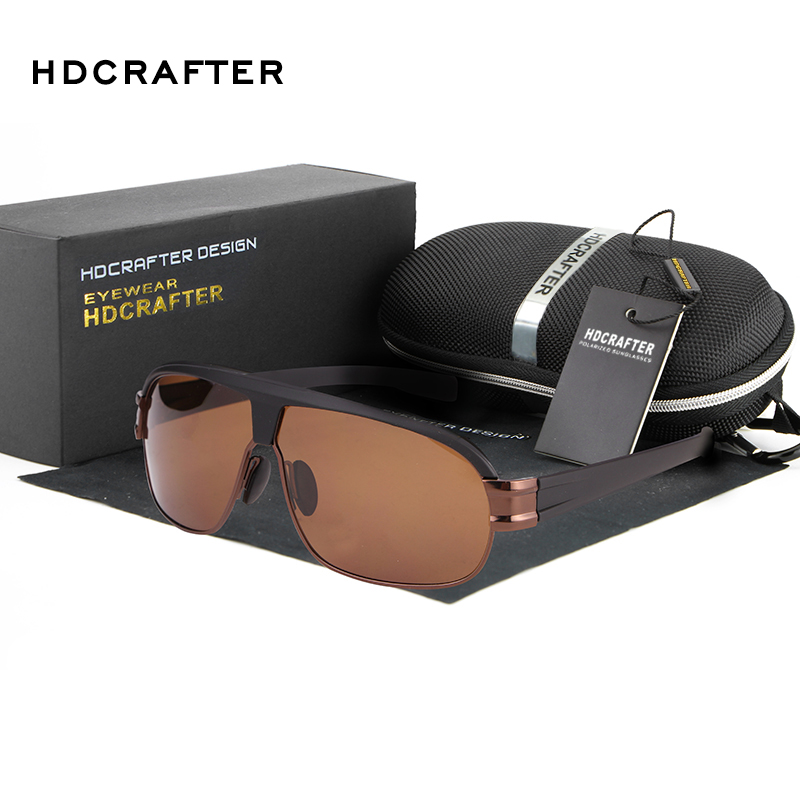 HDCRAFTER New Brand Fashion Polarized Sunglasses Outdoor Sports Men sun Glasses