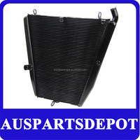 Motorcycle parts racing aluminium parts coolant radiator FOR HONDA CBR1000RR CBR 1000RR 2006 2007