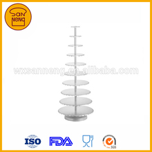 Wedding and Hotel Used Anodized Al.Alloy Cake Stand