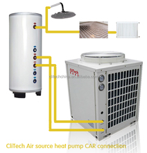 clitech mini split heat pump for home heating and hot water supply
