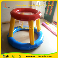 New design mini basketball hoop toy/inflatable basketball stand/water basketball hoop for kids