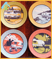 halloween melamine plate hot sale in china