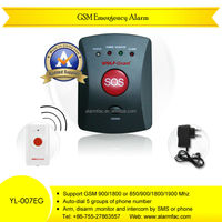 Wireless GSM Emergency Calling Alarm With