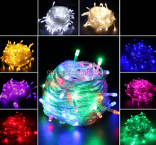 Wholesale 10M 100 LED String Outdoor Holiday Decoration Mini Christmas Tree Led String Lights