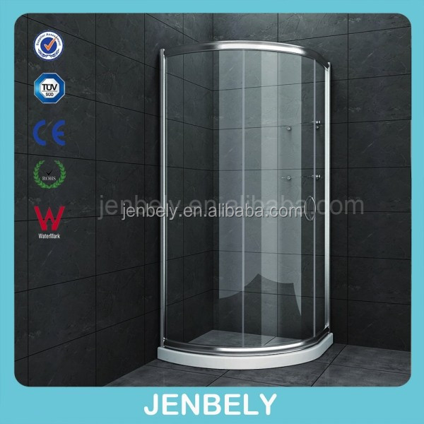 Sliding Open With Frame Frame Style Shower Cabin(CE)BL-302