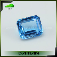 Natural London Blue Topaz gemstone for jewelry making from wuzhou of china